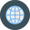 Global World Map Icon