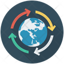 Global Earth Reload Icon