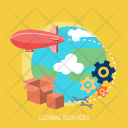 Global Services Creative Icon