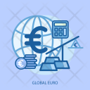 Global Euro Calculator Icon