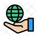 Global Care Protection Icon