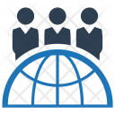 Global Team Business Icon