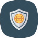 Global Globe Security Icon
