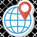 Global Globe Gps Icon