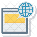 Global Planet Chat Icon