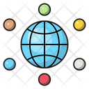 Global Connection Digital Icon