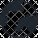 Global International Navigation Icon