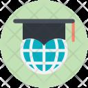 Global Education Globe Icon
