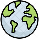 Earth Planet World Icon