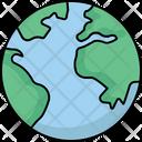 Global Globe Location Icon