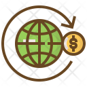 Global Money Shopping Icon