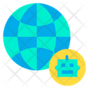 Automation Earth Global Icon
