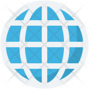 Global Coverage Globe Icon