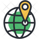 Global Location Positioning Icon
