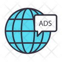 Global Advertisement Icon