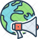 Global Advertisement Icon