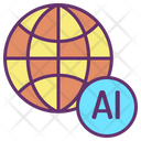 Global Ai Icon