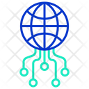 Iweb Network Global Ai Global Artificial Intelligence Icon