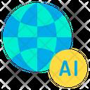 Artificial Global Globe Icon