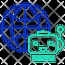 Iglobe Bot Global Ai Bot Artificial Bot Icon