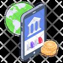 Banking App Global Banking Online Banking Icon