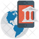 Global Banking Application Financial Institution Financial Organization Icon