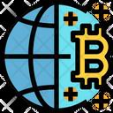 Global Bitcoin Icon
