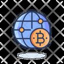 Global Bitcoin Bitcoin International Icon