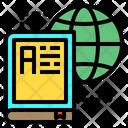 Book Globe Global Icon