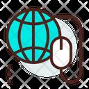 Global Browsing Global Search Global Icon