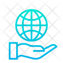 Global Geo Care Icon
