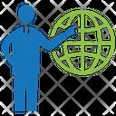 Global Business Globe World Icon