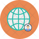 Global World Network Icon