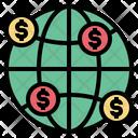 Globe Money Network Icon