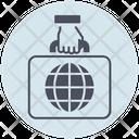 Business Portfolio Briefcase Icon
