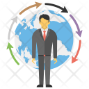 Global Business Development Icon