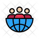 Group Global Team Icon