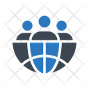 Global Business Group Icon