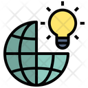 Global Business Idea Creative Idea Icon