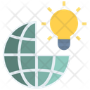 Global Business Idea Icon