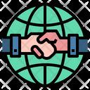 Handshake Bussiness Management Icon