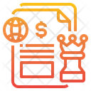 Global Business Strategy Icon