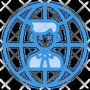 Worldwide Global Business Icon