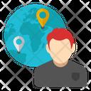 Global Businessman Businessperson Tycoon Icon
