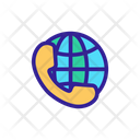 Global Call Support Icon