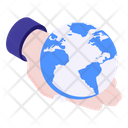 Global Protection Global Care Global Safety Icon