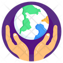 World Care Global Care Worldwide Care Icon