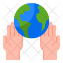Global Care Earth Care Earthday Icon