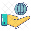Global Care Calendar Recycle Icon