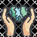 Global Care World Care Earth Care Icon